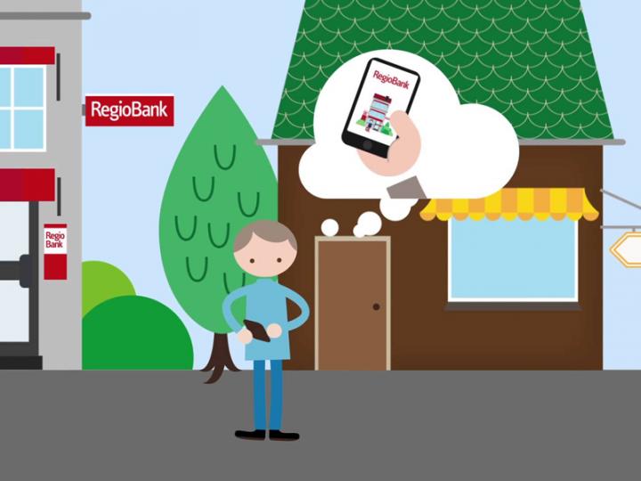 Nieuwe versie Mobiel Bankieren app