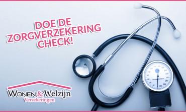 Doe de zorgverzekering check - Wonen & Welzijn