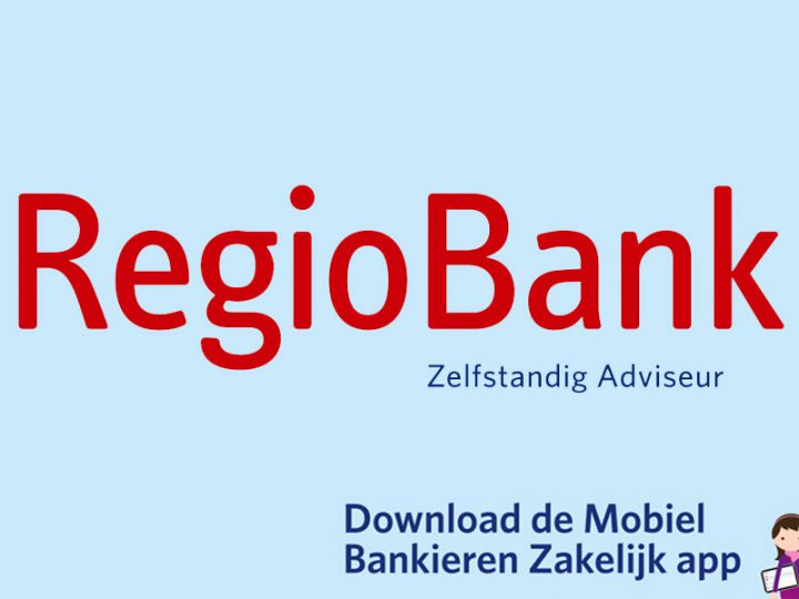 RegioBank app voor mobiel bankieren zakelijk