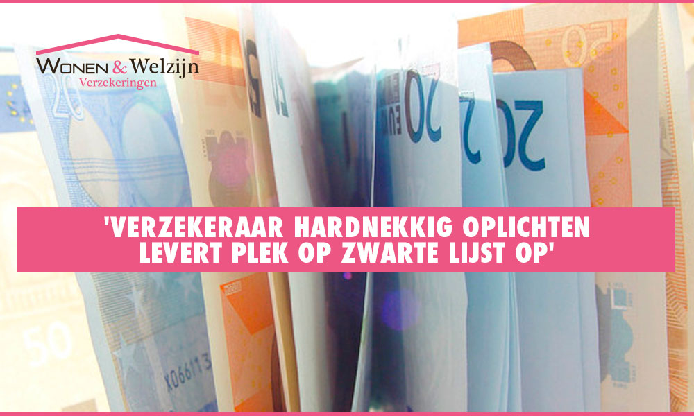 Verzekeraar hardnekkig oplichten levert plek op zwarte lijst op - Wonen en Welzijn