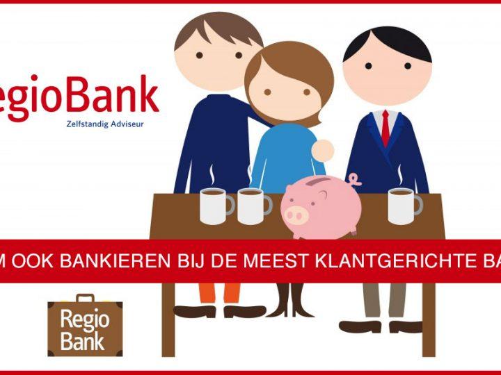 Kom ook bankieren bij de meest klantgerichte bank