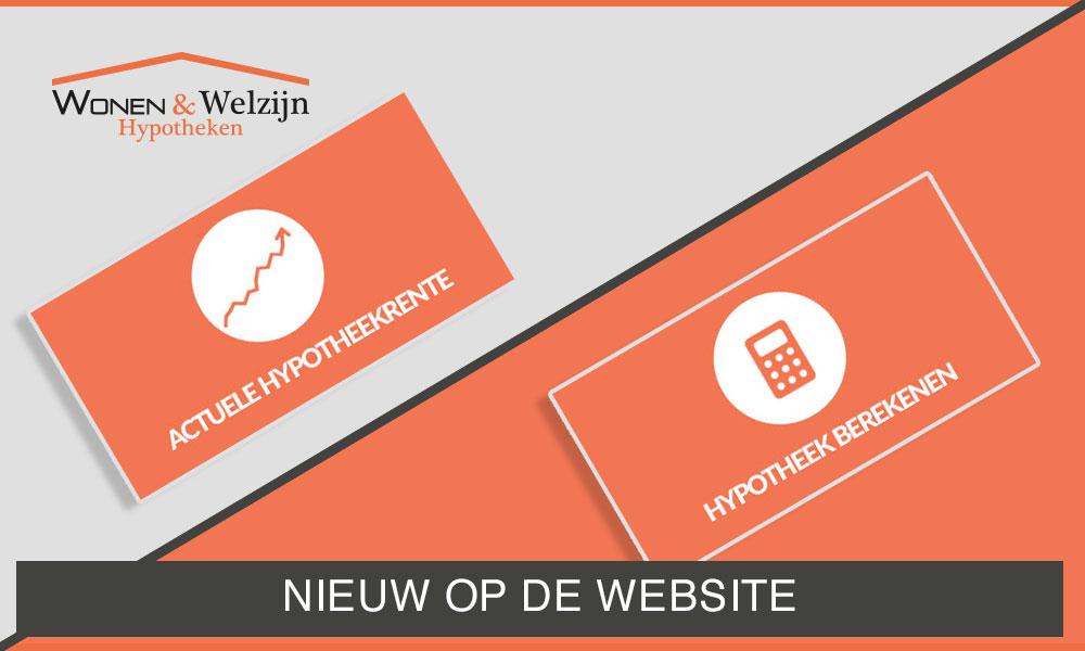 Nieuw op de website - Wonen & Welzijn