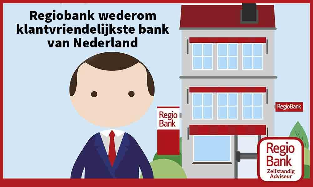 Regiobank wederom klantvriendelijkste bank van Nederland - Wonen & Welzijn Ammerzoden