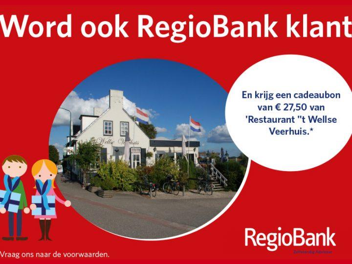 RegioBank weer beste rapportcijfers