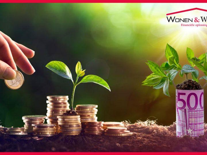 Investeren in duurzaamheid: spaargeld, hypotheek of anders?